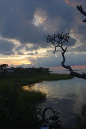 Sunset at Sander's Point
