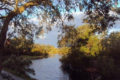 Trinity Center pond