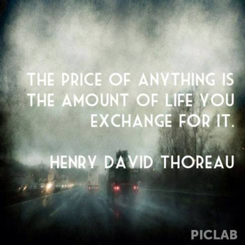 time management quote by Thoreau